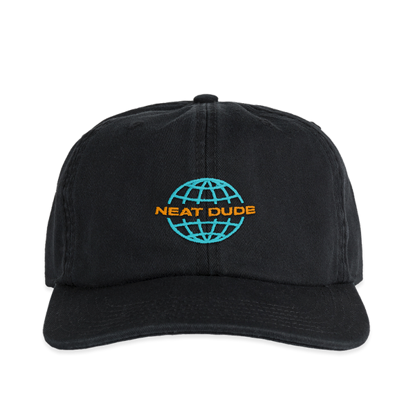 Worldwide Hat - Teal/Orange