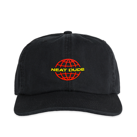 Worldwide Hat - Red/Yellow