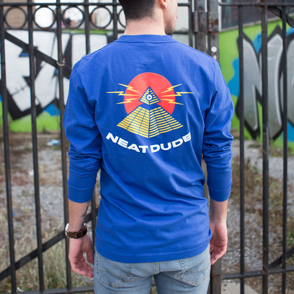 Pyramid Long Sleeve Tee