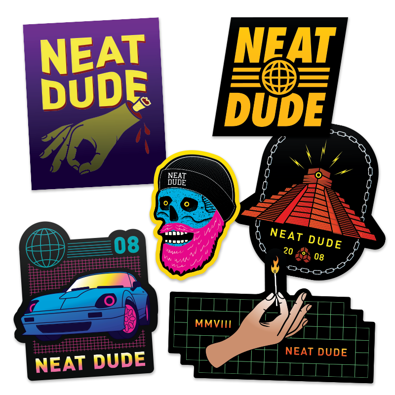 Sticker Pack: Series 6