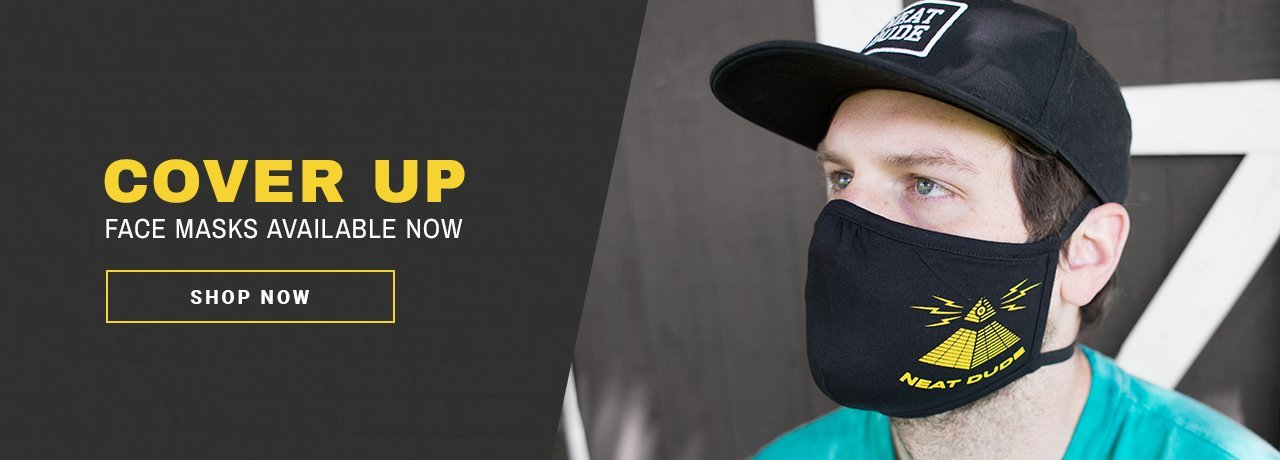 Neat Dude Face Masks Now Available