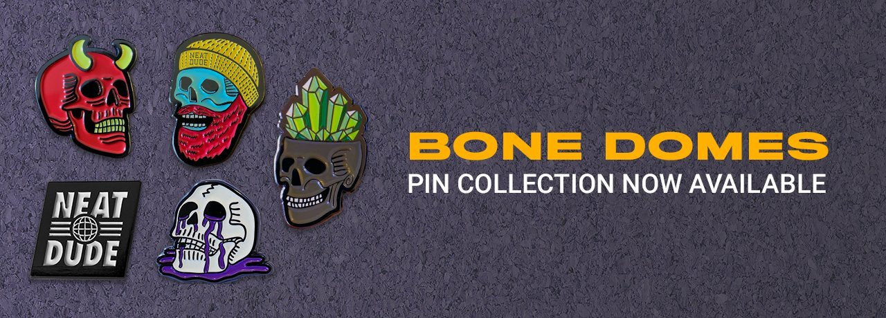 Bone Domes Pin Collection