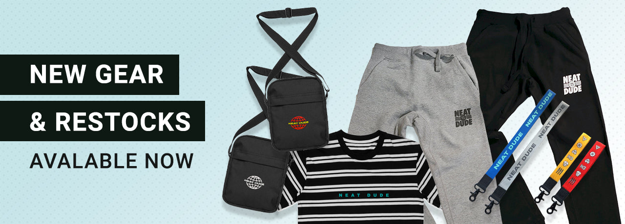 New Gear and Restocks Now Available. Flight Bags, Joggers Lanyard and More.