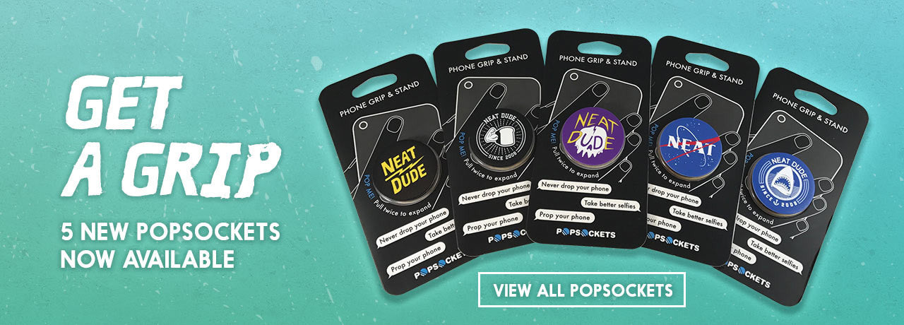 5 New popsocket styles now available