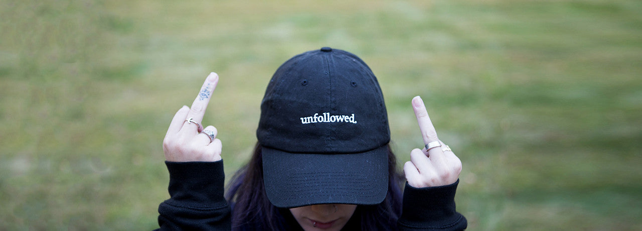 Unfollowed Hat