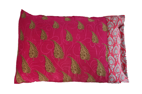 Recycled Sari Pillow Cases
