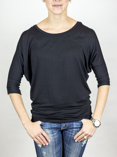 Solid Dolman Top - Simply Fate - 3