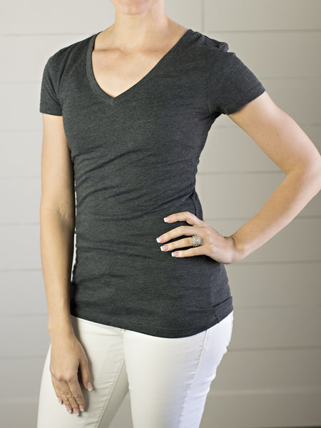 V-neck Tee - Simply Fate - 2
