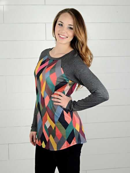 Geometric Long Sleeve