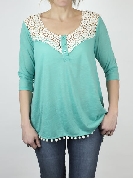 Crochet boho top from Simply Fate Clothing.