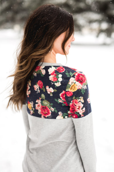 Floral and Not Top