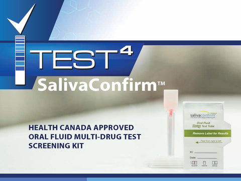 ITest4 SalivaConfirm - 12 Panel Drug Test Kit