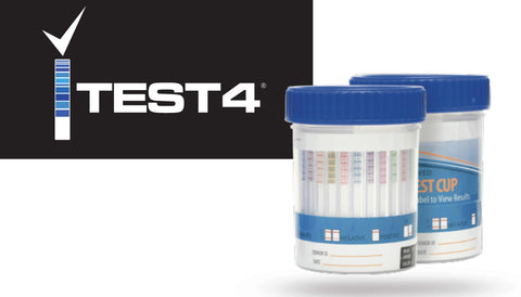 ITest4 - Advanced Drug Test Cup (25/box)