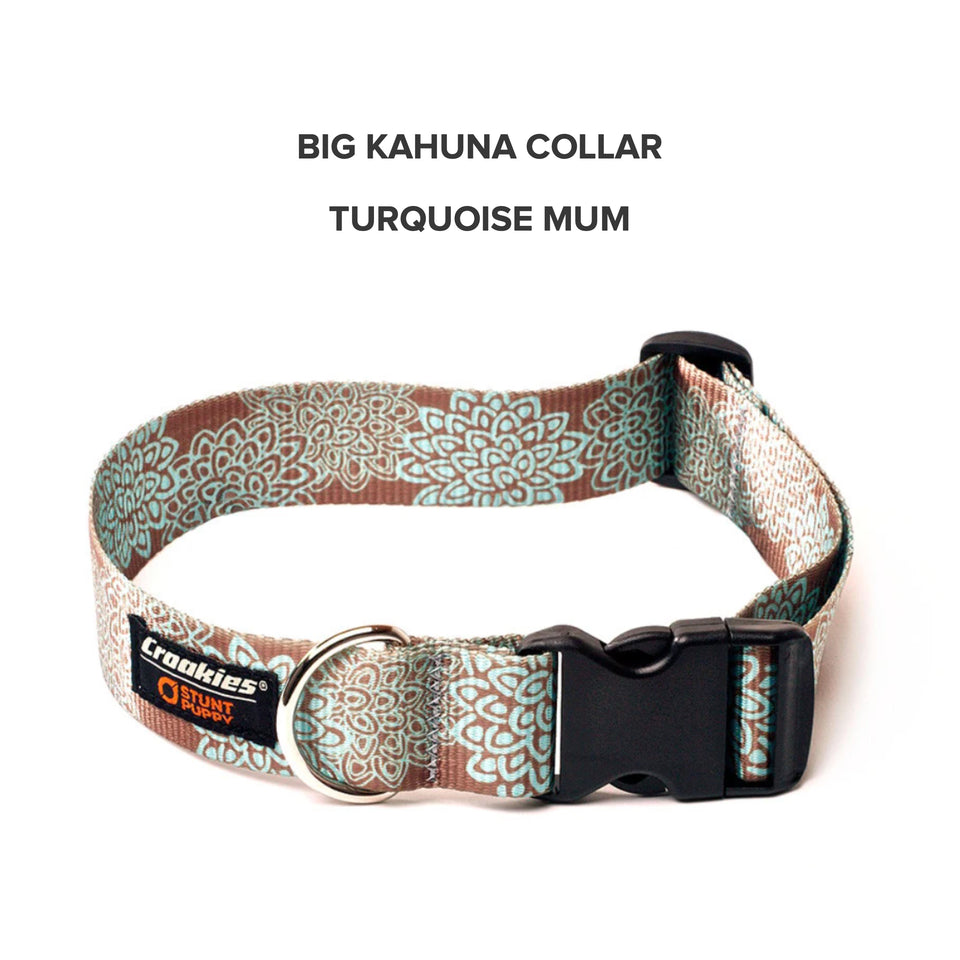 Big Kahuna Wide Printed Collar