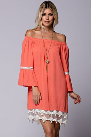 Heavenly Dreams Lace up Romper