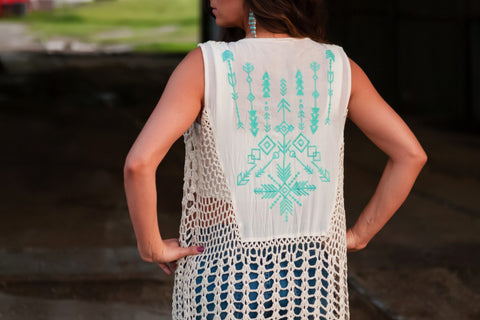 Aria Lace Tank Top
