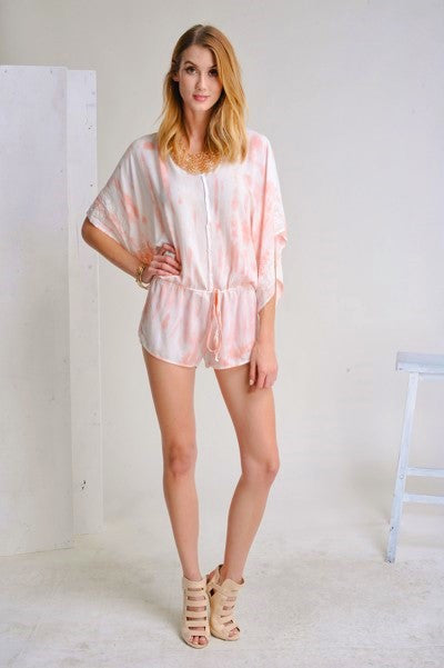 Tahitian Sunset Romper - Thread Affair