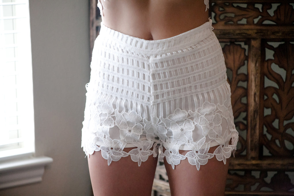 Whitney Crochet Shorts - Thread Affair