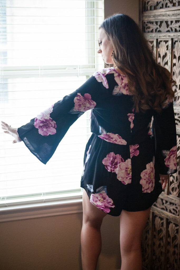 All about the Florals Romper - Thread Affair
