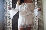 Tulum White Lace Dress - Thread Affair