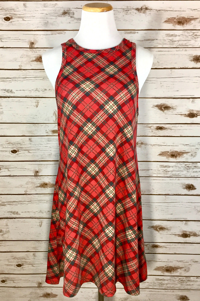 Jingle all the way Plaid Dress - Thread Affair