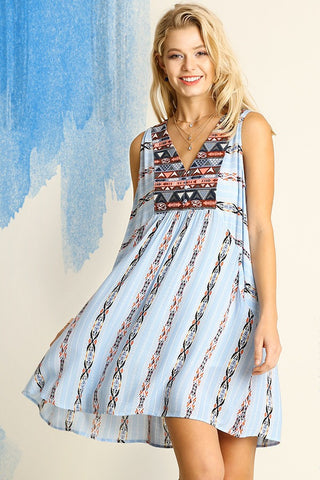 Forever Paisley Shift Dress