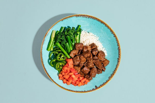 Grass Fed Steak Bowl