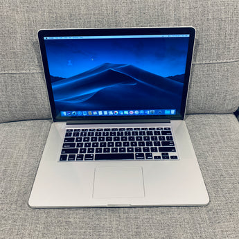 "Apple Macbook Pro 15"" Retina Display i7 2.5Ghz 16GB 512GB"