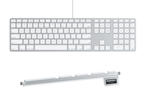 Apple USB Wired Keyboard with Numeric Keypad
