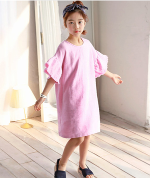 Cotton Candy Dress -Mom & Me [3-12Y, Mom]