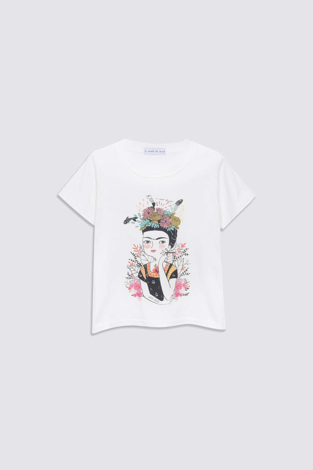 [Made By Nics] MBN-Frida Kahlo T-Shirt [9M-9Y]
