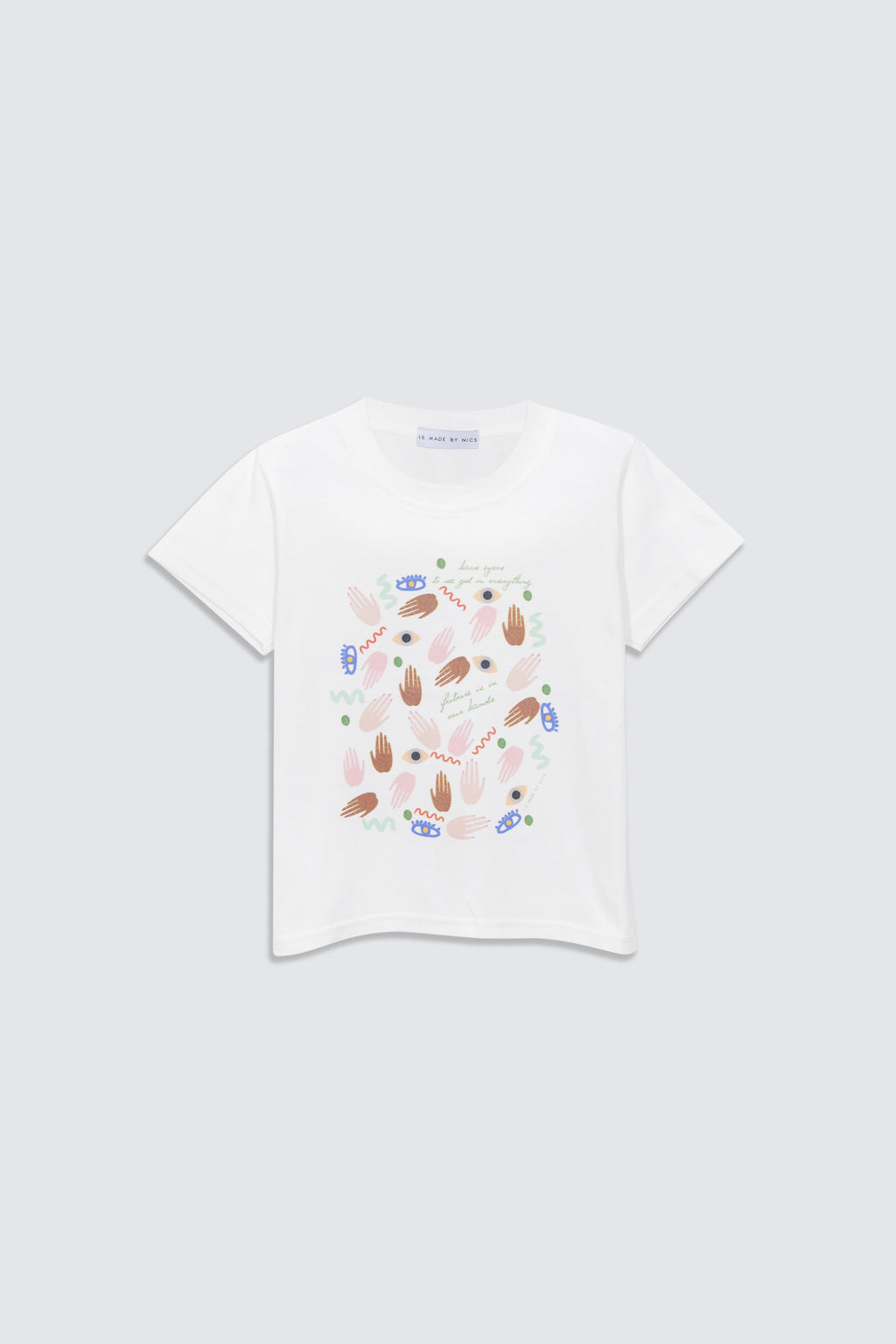 [Made By Nics] MBN- Hands T-Shirt [9M-9Y]