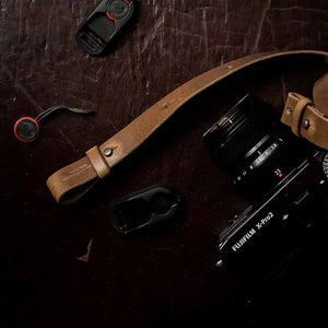 Peak Design Leather Camera Strap | Adams St | Adjustable
