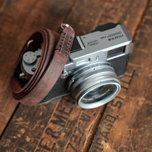 Leather Camera Strap | Horween | Stitched | McMurray and Blonde