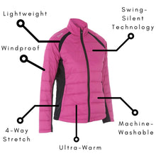 Women's Alexis Therma Tour Jacket - ProQuip Golf USA - Golf Apparel, Women's Alexis Therma Tour Jacket - Rain& Wind Gear