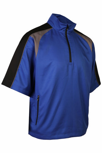 Men's Zephyr Wind 1/2 Sleeve Pullover - ProQuip Golf USA - Golf Apparel, Men's Zephyr Wind 1/2 Sleeve Pullover - Rain& Wind Gear
