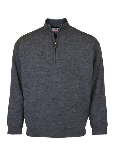 Men's Merino Wool Lined Sweater - ProQuip Golf USA - Golf Apparel, Men's Merino Wool Lined Sweater - Rain& Wind Gear
