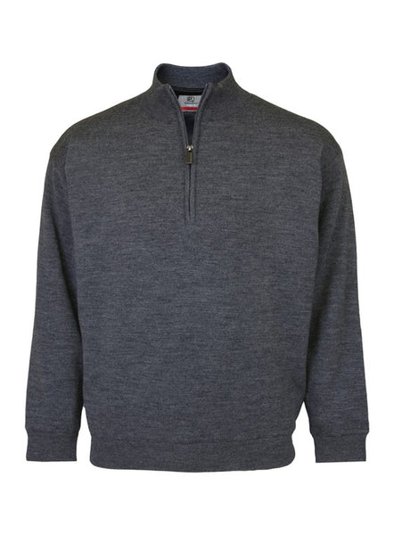 Men's Merino Wool Lined Sweater