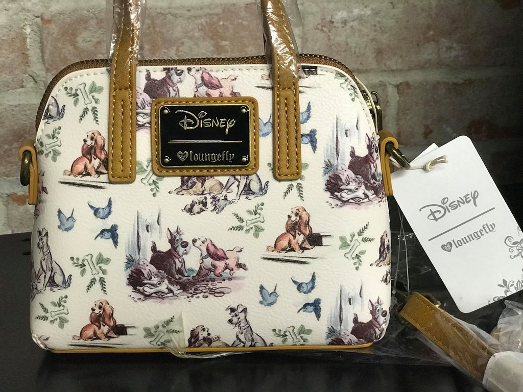 Lady And The Tramp Crossbody Bag Loungefly Wearhouse Clothing Co