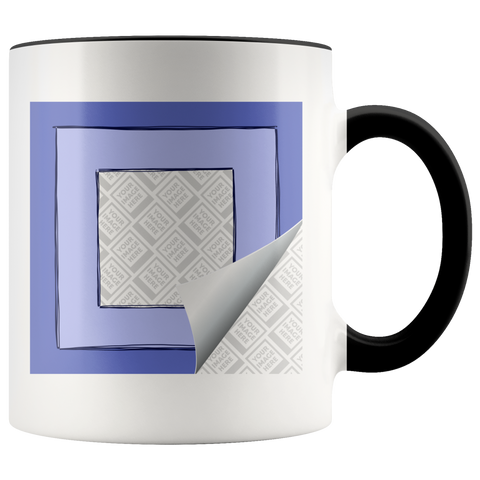 Personalized 11oz Accent Mug