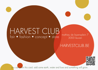 Plant this card and harvest a gift card !