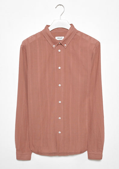 FRISUR Ken Shirt  • Striped Teak