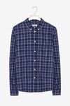 FRISUR Ken Shirt • Towel Check Blue