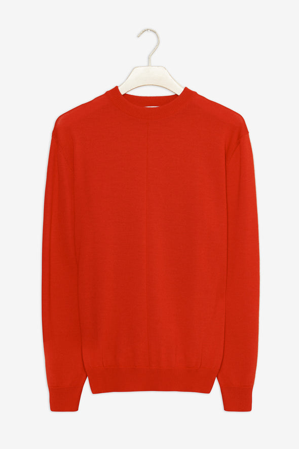 harvestclub-harvest-club-leuven-frisur-milo-jumper-merino-neon-red