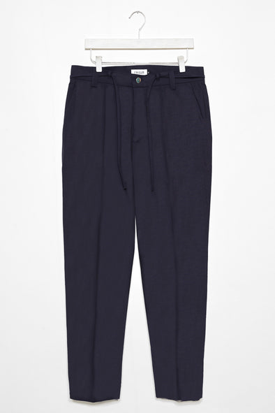 FRISUR Josef Trousers  • Seersucker Navy