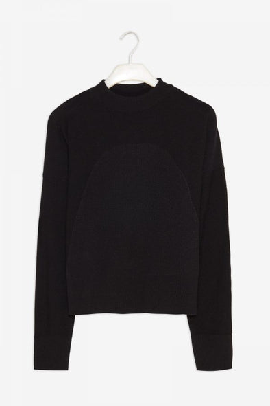 FRISUR Elin Jumper • Lambswool Black