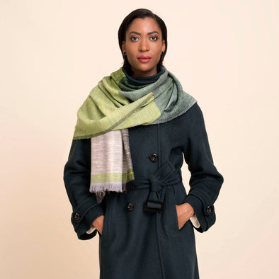 KARIGAR Shawl Wool Silk • Berlin