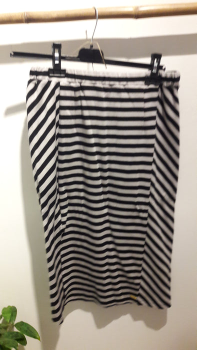 Studio Jux Skirt • Black and Grey Organic Cotton