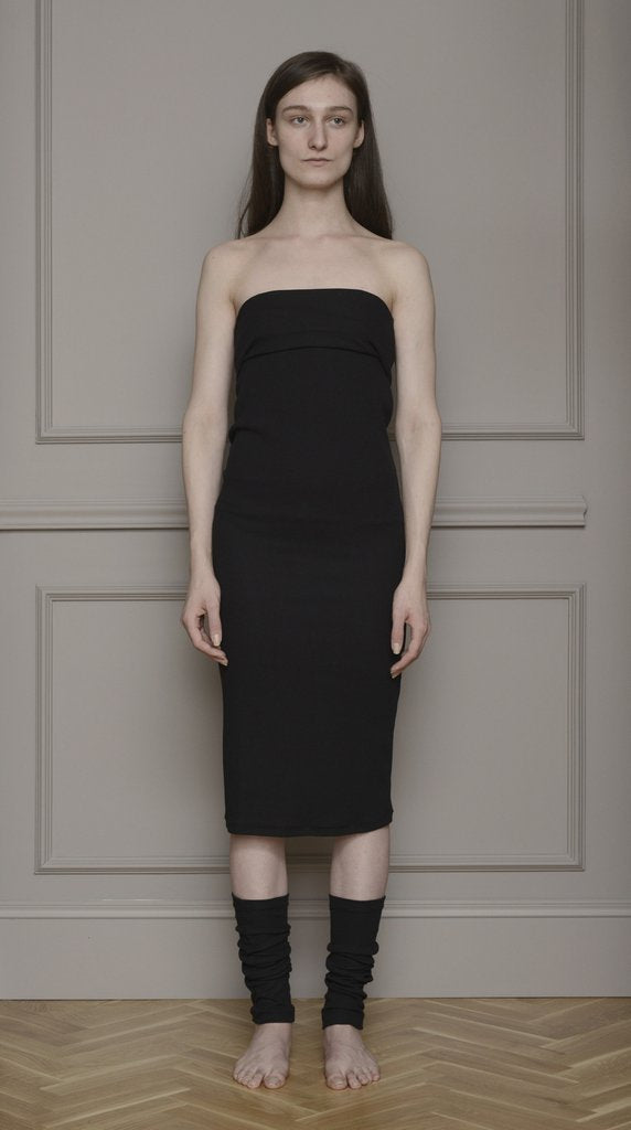 By Signe • Fold Dress • Black