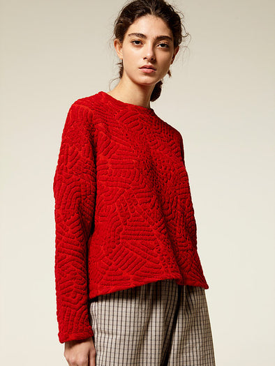 RITA ROW  Helene Sweater • Red